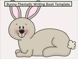 Bunny-Thematic Writing Book Template