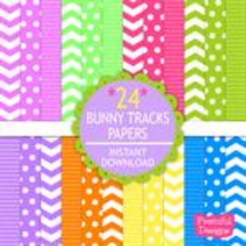 Bunny Tracks Paper Pack