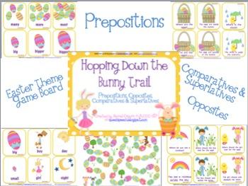 Bunny Trail Prepositions