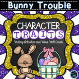 Bunny Trouble Character Traits Writing and Word Wall Cards