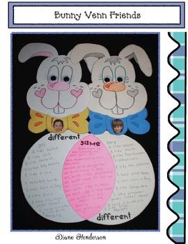 Bunny Venn Friends Crafty Writing Prompt