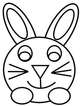 Bunny Writing Template