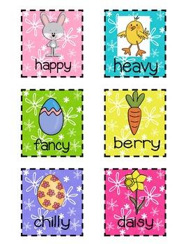 Bunny Y Activities