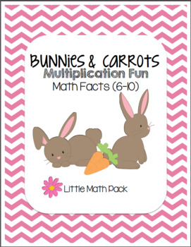 Bunny and Carrot Multiplication Little Math Pack (Math Fac