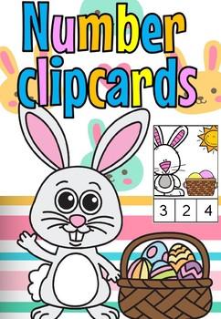 Bunny clip cards(free)