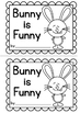 Bunny is Funny Emergent Reader