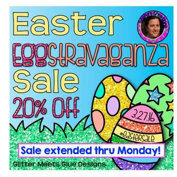 Bunny -od & -op Word Families Easter Freebie