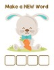Bunny's Carrot Make-a-Word (-ang, -ing, -ong, -ung Word Families) Pack