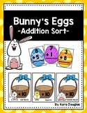 Bunny's Eggs Addition Sort