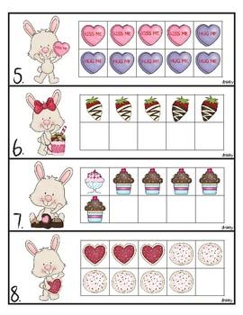 Bunny's Sweet Valentine Treats Fact Family Center