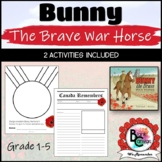 Bunny the Brave War Horse *Remembrance Day read-a-loud and