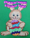 Bunny with Easter Egg Art Project