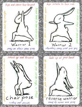 Bunnyoga Cards