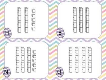 Bunny's Base Ten- Write The Room Activity