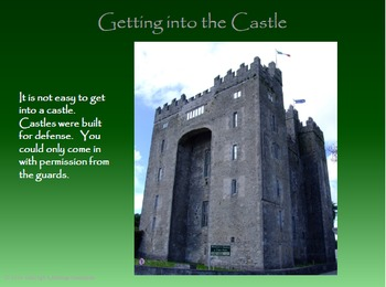 Bunratty Castle - an Irish Medieval Castle