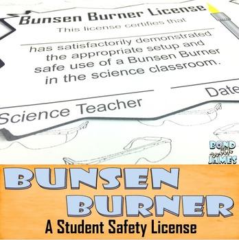 Bunsen Burner Classroom Safety License