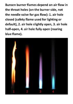 Bunsen burner Handout