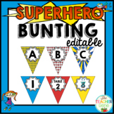 Superhero Bunting