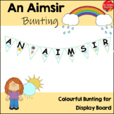 Bunting 'An Aimsir' Heading (Gaeilge/Irish)