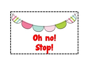 Bunting Banner Behavior Clip Chart