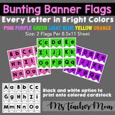 Bunting Banner Flags FREEBIE!