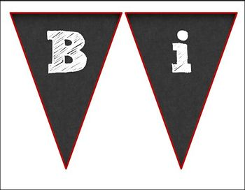 Bunting Banner for Back to School in Spanish *Freebie*