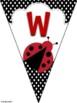 Bunting Banners Ladybugs