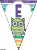 Bunting Banners Owls