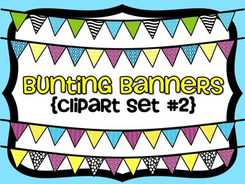 Bunting Banners {Set #2}