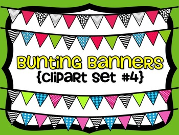 Bunting Banners {Set #4}