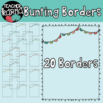 Bunting Borders: Doodle Style