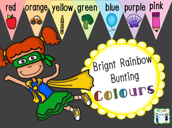 Bunting - Colours