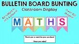 Bunting Display Board Headings