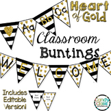 Bunting - Heart of Gold Theme