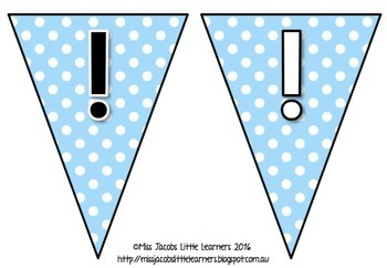 Bunting Letters