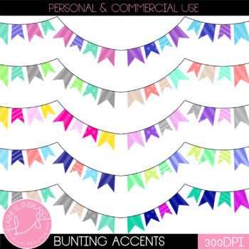Bunting Page Accents