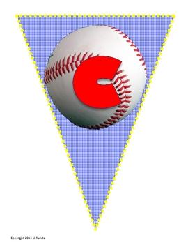 Bunting - Sports Alphabet