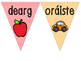 Bunting - dathanna/colours