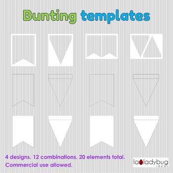 Bunting templates clip art for commercial use banner templates 4 bunting templates clip art for commercial use banner templates 4 designs maxwellsz