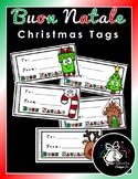 Buon Natale   Christmas Tags