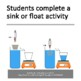 Buoyancy: Apparent Weight (Activity)