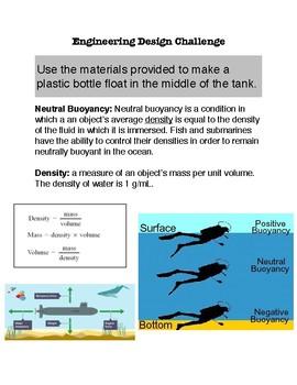 Buoyancy Engineering Design Challenge
