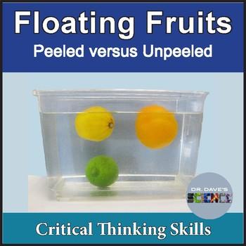Sink or Float: Fruits