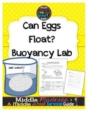 Buoyancy Lab: Eggs in Salt Water