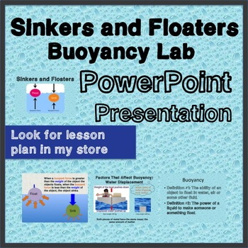 Buoyancy PowerPoint - Sinking, Floating, Mass, Weight, Density