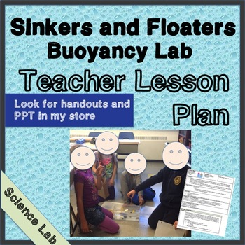 Buoyancy Lesson Plan - Sinking, Floating, Mass, Weight, Density