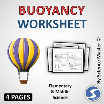 Buoyancy Worksheet One in Many Ways