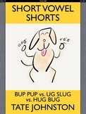 Bup Pup vs. Ug Slug vs. Hug Bug: A Fun Phonics Story Starring Short Vowel U pdf