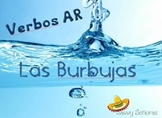 Burbujas, AR Present Tense Verbs