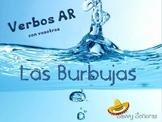 Burbujas, AR Present Tense Verbs (with Vosotros)